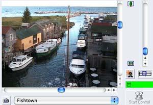 Leland webcam - Fishtown Leland webcam, Michigan, Leelanau County