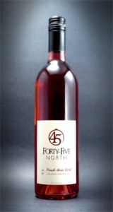 Forty-Five North's 2008 Pinot Noir Rose