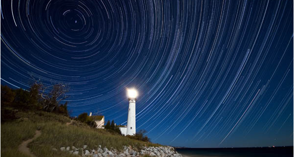 South-Manitou-Island-Lighthouse-by-Ken-Scott