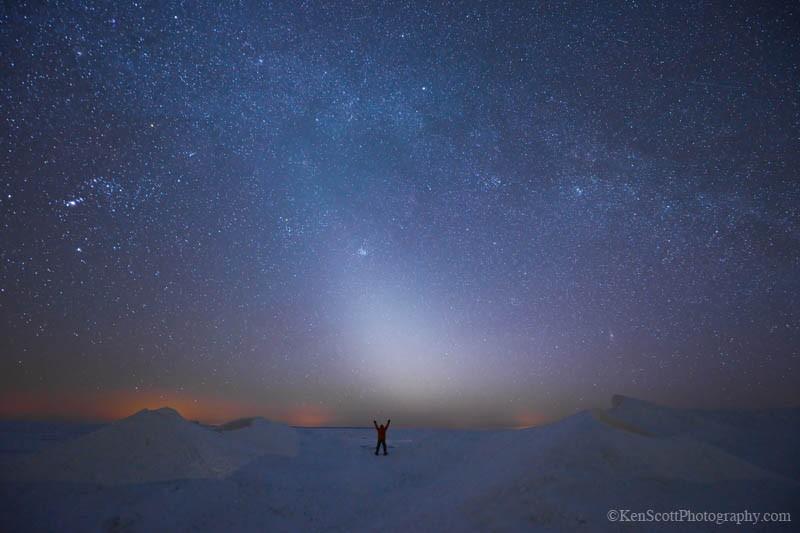 Lake Michigan ... Earth Hour