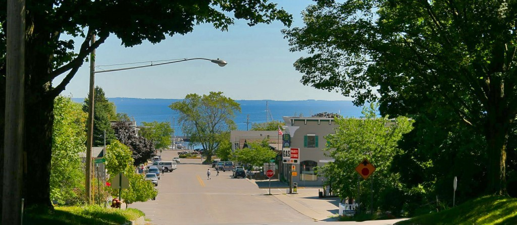 Northport and Lake Michigan