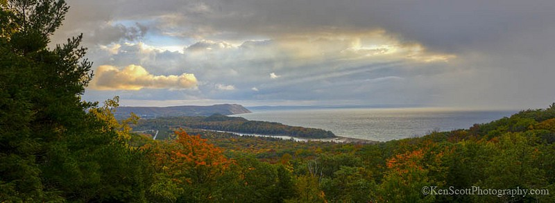 Color Tour ... North Bar Lake overlook