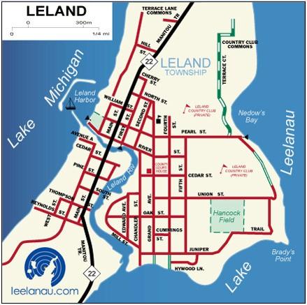 Leelanau  Leelanau County Maps