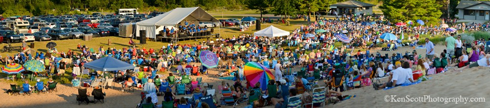 Manitou Music Festival ... at the dune climb II
