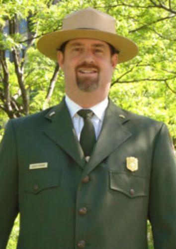 Sleeping Bear Dunes Superintendent Scott Tucker