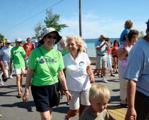 Glen Arbor Labor Day Bridge Walk